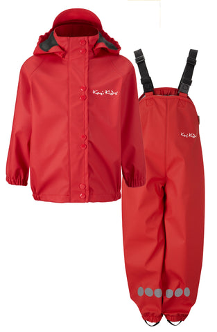 PU Waterproof Rain Set (ages 2 - 3yrs)