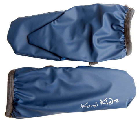 Rain Mitts Fleece Lined (ages 5-8yrs) - Blue