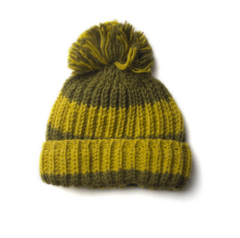 Chunky Fairtrade Woollen Bobble Hat