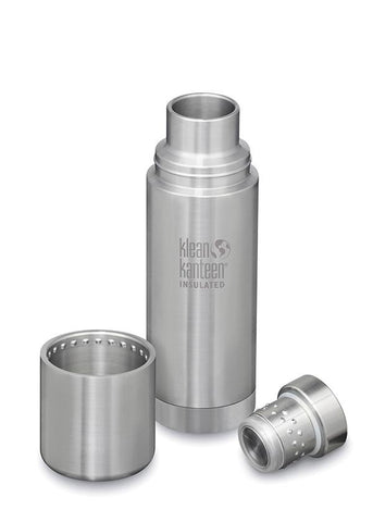 Insulated Vacuum Flask TKPro - Brushed Steel