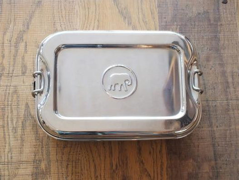 Elephant Box Steel Lunch Box, perfect container for storing foods.