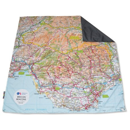 Pacmat Family Picnic Blanket: OS Brecon Beacons