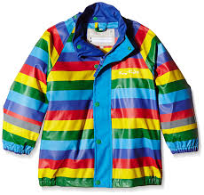Koster Rain Coat (ages 1-5) - Rainbow