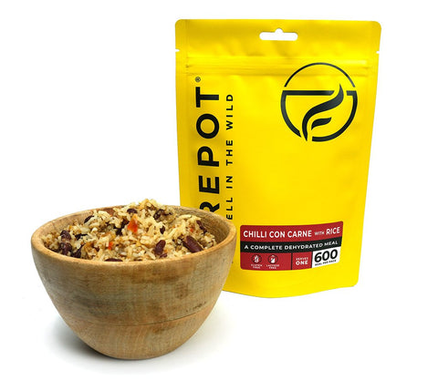 Firepot Chilli con Carne and Rice