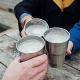 Stainless Steel Pint Cup - UK made