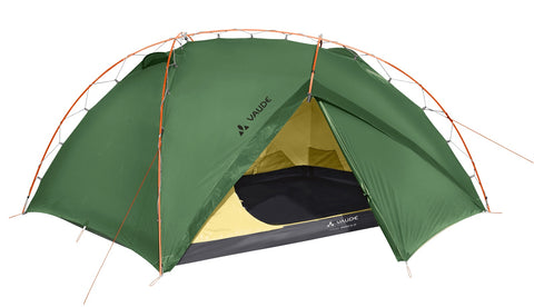 Spacious ethically produced back packing tent from vaude