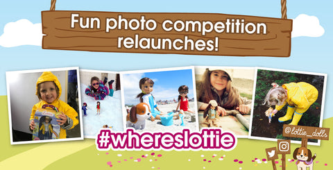 #WhereisLottie? is a fun photo competition
