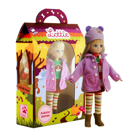 Autumn Leaves Lottie doll