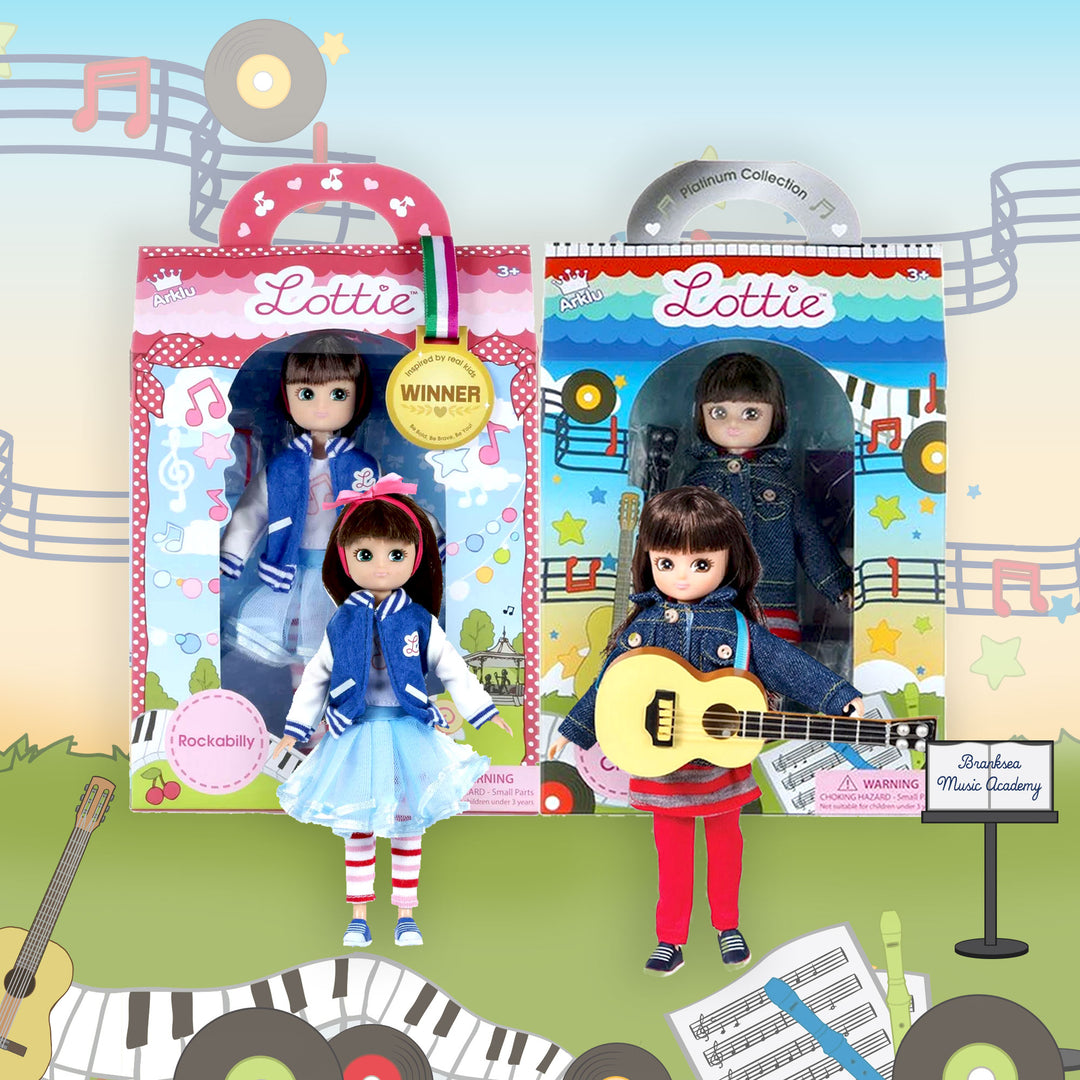 Music Dolls | Band Mates | Kids Toys and Gifts by Lottie