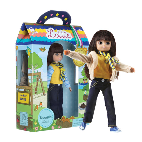 Brownie Lottie Doll