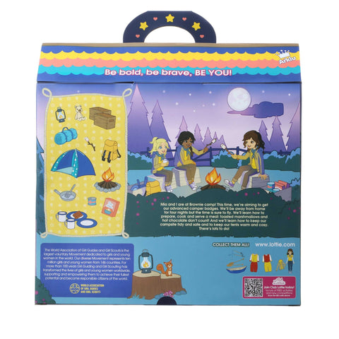 Brownie Campfire Fun Playset Lottie Dolls Uk Store