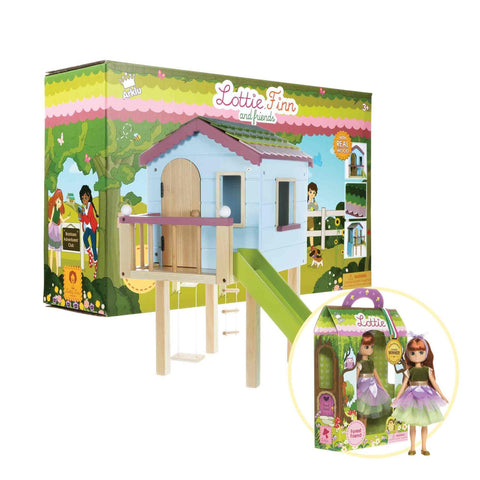 Tree House & Forest Friend Doll