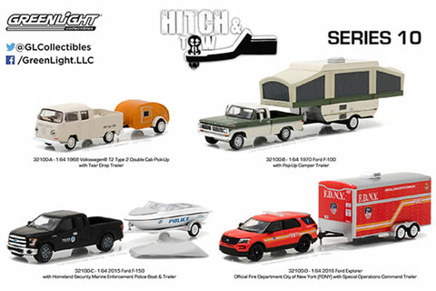 Greenlight - Hitch & Tow Series 10