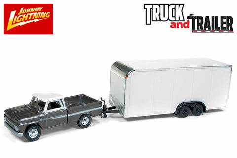 """2018 Johnny Lightning /""""Truck and Trailer/"""" 1997 Chevy Tahoe w//Camper Trailer"""