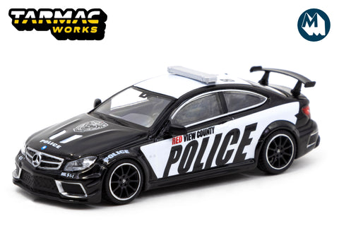 Mercedes-Benz C63 AMG Coupé Black Series - Police Car