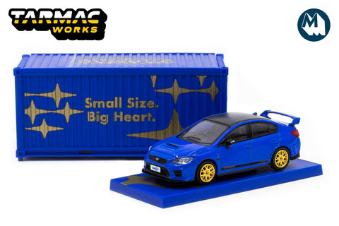 Subaru WRX STI EJ20 Final Edition with Container
