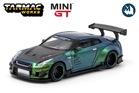 #145 - LB★WORKS Nissan GT-R (R35) Type 2, Rear Wing Ver 3 (Magic Green)