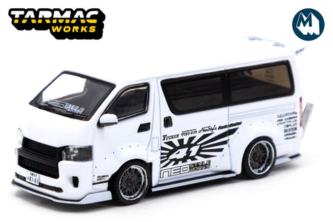 Toyota Hiace Widebody - White