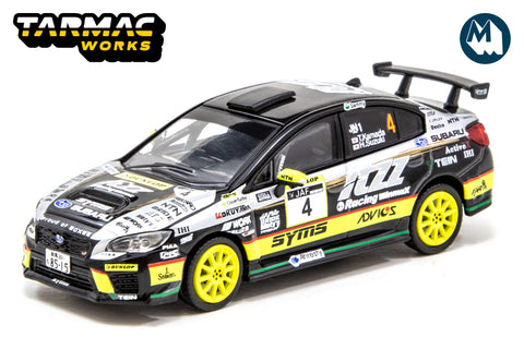 Subaru WRX STI All Japan Rally Championship #4 2019 Champion