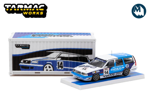 Volvo 850 Estate - BTCC 1994 #14 with Container