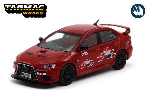 Mitsubishi Lancer Evolution X Ralliart - Red