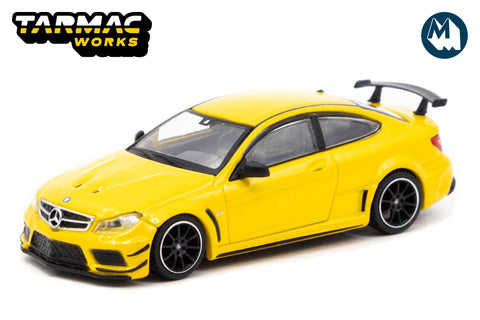 Mercedes-Benz C63 AMG Coupé Black Series - Yellow Metallic