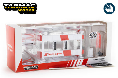 Tarmac Works - 1/64 Garage Tools Set (Audi Sport)