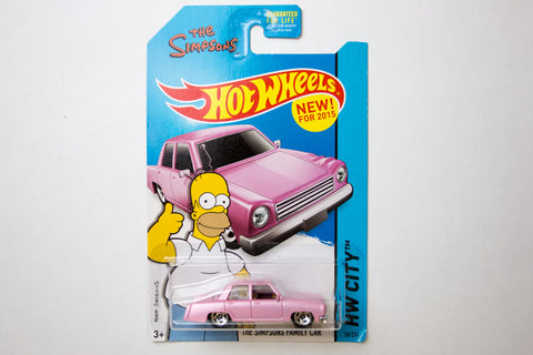 056/250 - The Simpsons Family Car