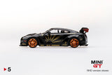 #5 - LB★Works Nissan GT-R (R35) Black w/ Copper Wheels