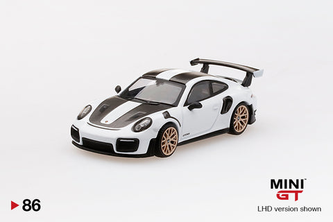 #86 - Porsche 911 GT2 RS Weissach Package (White)