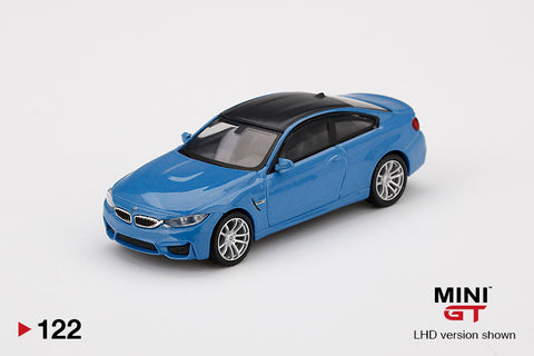 #122 - BMW M4 (F82) Yas Marina Blue Metallic