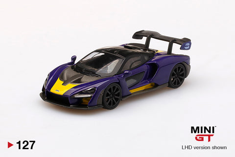 #127 - McLaren Senna (Purple/Yellow)