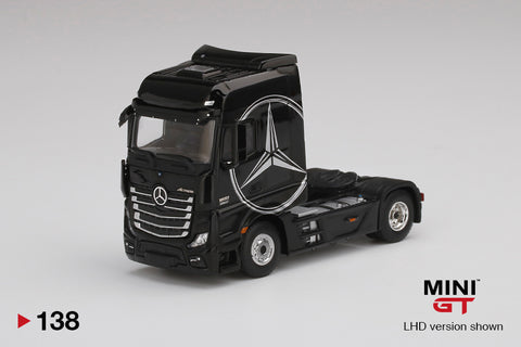 #138 - Mercedes-Benz Actros (Black with Silver Mercedes Logo)