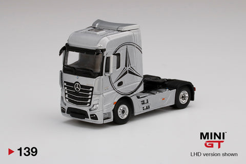 #139 - Mercedes-Benz Actros (Silver with Black Mercedes Logo)