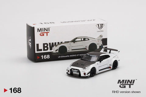 #168 - LB-Silhouette WORKS GT NISSAN 35GT-RR Ver.1 White