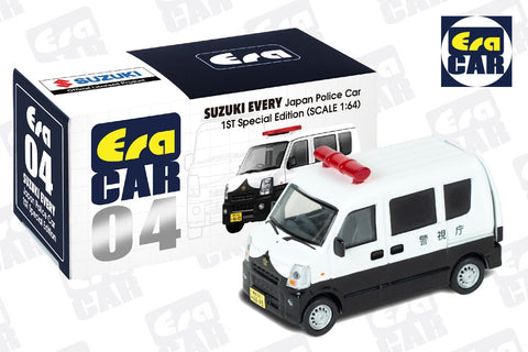 Suzuki Every Japan Police Car (1st Special Edition)