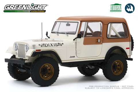 "1:18 1979 Jeep CJ-7 Golden Eagle ""Dixie"""