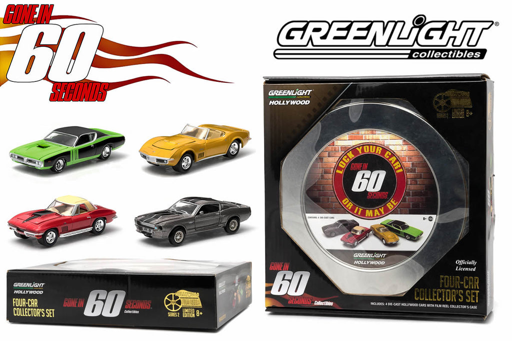Quality Auto Parts >> Greenlight Collectibles Film Reels Series 2 - Gone in 60 ...