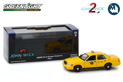 1:43 - John Wick: Chapter 2 / 2008 Ford Crown Victoria Taxi