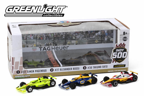 2019 Indianapolis 500 Podium 3-Car Set