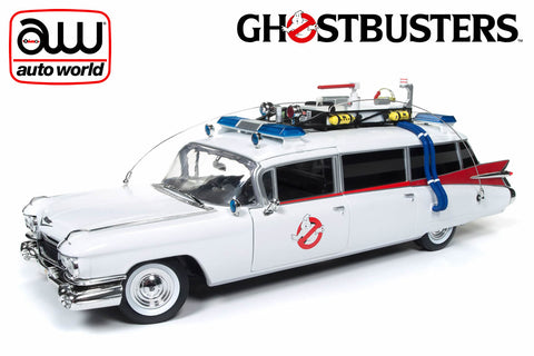 1:18 Ghostbusters Ecto 1