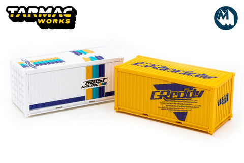 Tarmac Works - 1/64 Containers Set (GReddy)