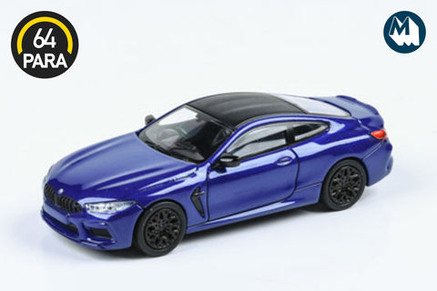 BMW M8 Coupe - Marina Bay Blue Metallic