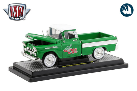 1:24 - 1958 Chevrolet Apache Cameo (Turtle Wax)