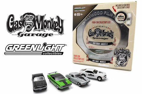 Film Reels Series 3 - Gas Monkey Garage