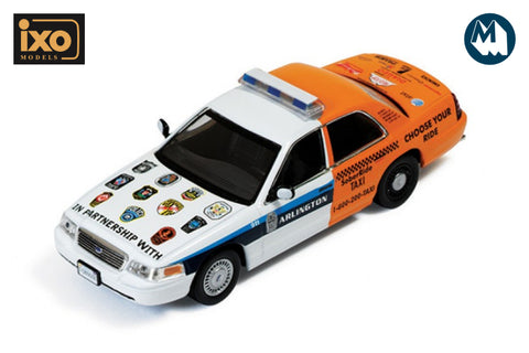"1:43 - Ford Crown Victoria Police Interceptor (Arlington Police ""Sober ride"" 2012)"
