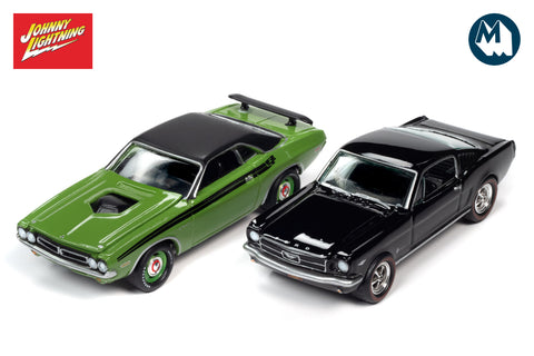 1971 Dodge Challenger / 1965 Ford Mustang Fastback (Pony Power 2020)