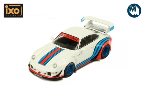 1:43 - RWB 993 (White with Martini Stripes)