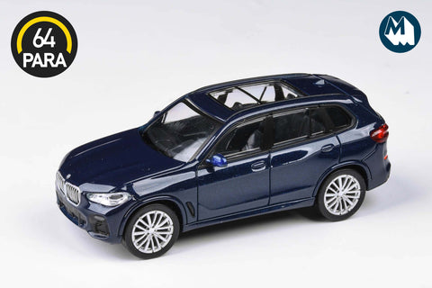 BMW X5 - Tanzanite Blue