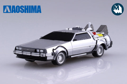 1:43 - DeLorean Time Machine from Back to the Future II